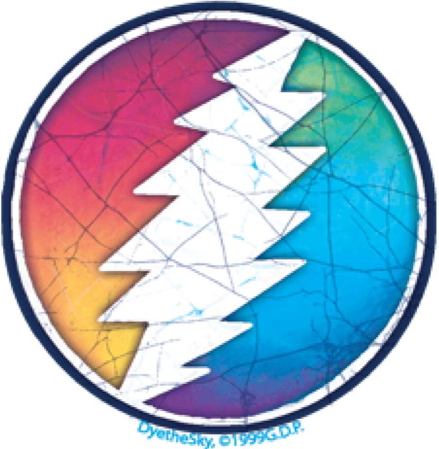 Stickers Grateful Dead - Circle Bolt - Sticker 100500
