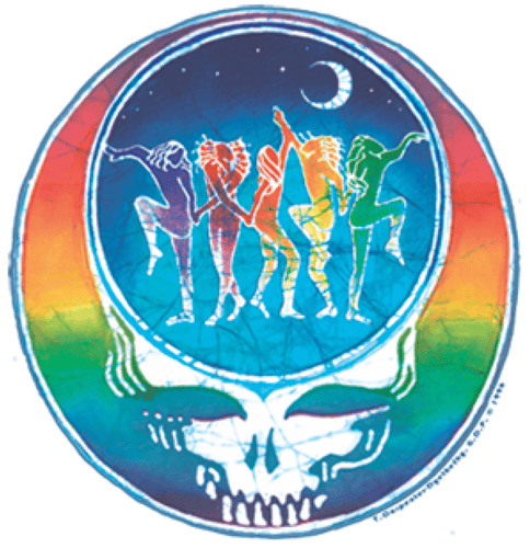 Stickers Grateful Dead - Dance Yr Face - Sticker 100526
