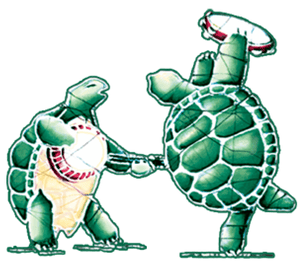 Stickers Grateful Dead - Jammin' Turtles - Sticker 002401