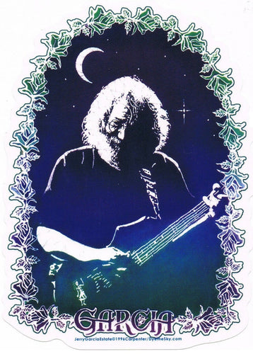 Stickers Grateful Dead - Jerry Garcia Roses - Sticker 100518