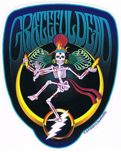 Stickers Grateful Dead - Shiva Crescent - Sticker 100529