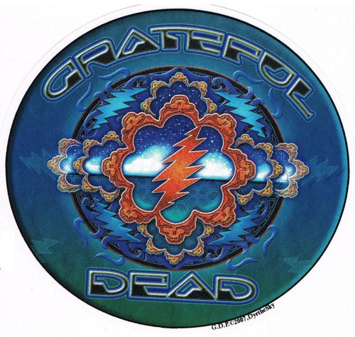 Stickers Grateful Dead - Space Window - Sticker 100509