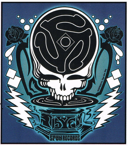 Stickers Grateful Dead - Spun Steal your Face - Sticker 100530