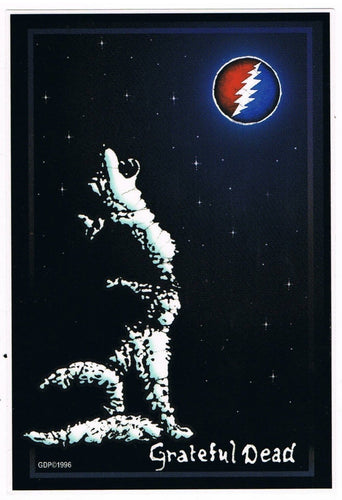 Stickers Grateful Dead - Wolf - Sticker 100515