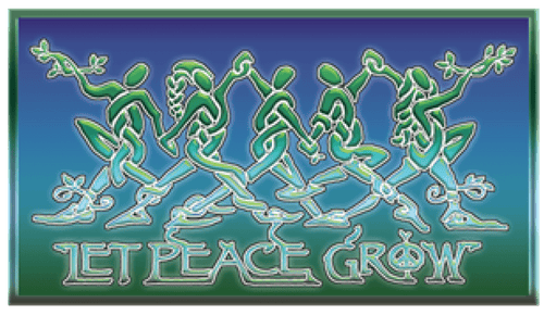 Stickers Let Peace Grow - Sticker 100541