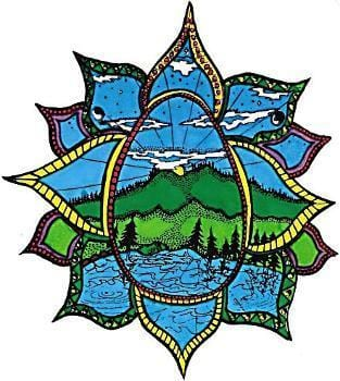 Stickers Nature Lotus - Sticker 008369