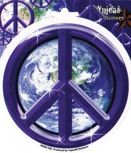 Stickers Peace Sign Earth - Sticker
