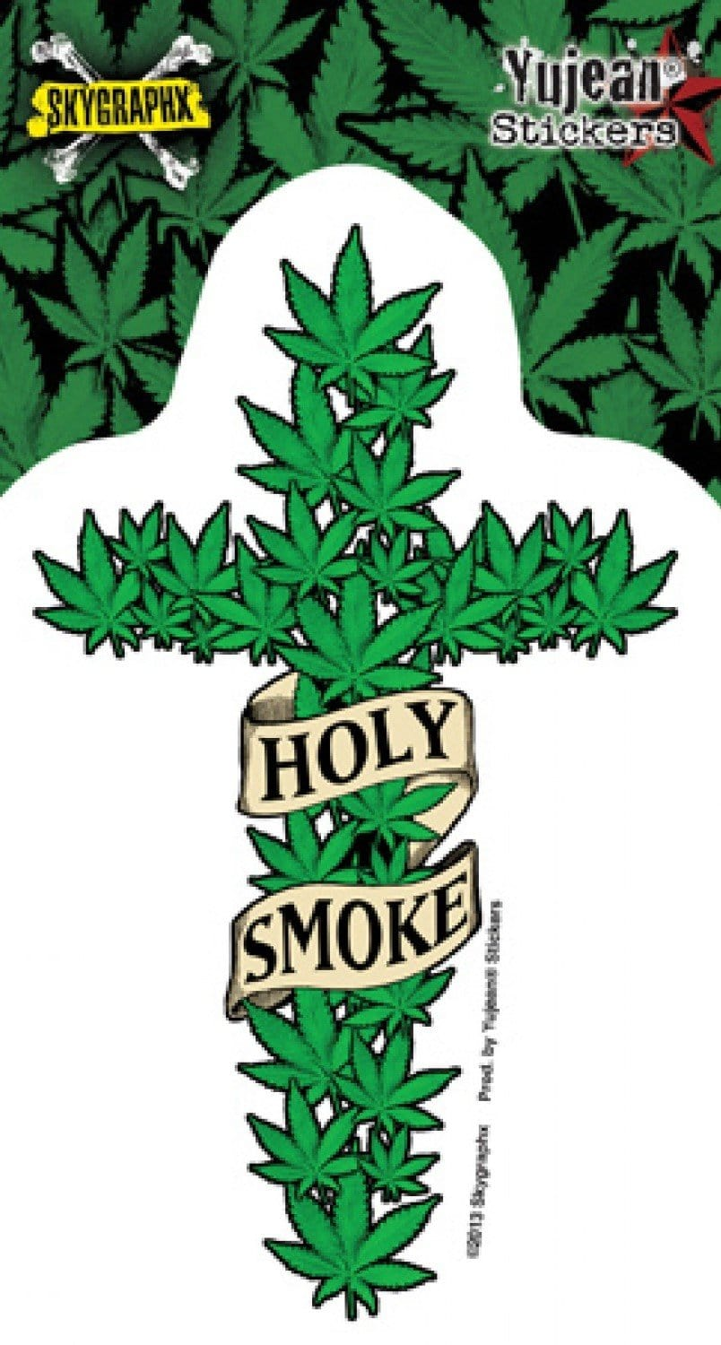 Stickers Skygraphx Holy Smoke - Sticker 100563