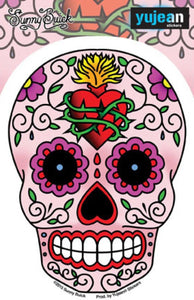 Stickers Sunny Buick Sacred Heart Sugar Skull - Sticker 100567