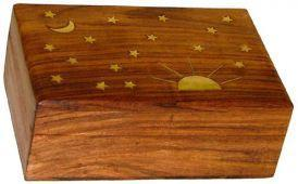 Storage Celestial - Brass Inlay - Storage Box 007626