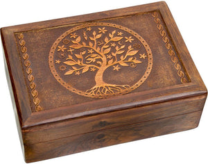 Storage Tree of Life - Laser Etched - Storage Box 009685