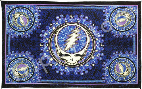 Tapestries 3D - Dan Morris - Grateful Dead - Steal Your Face - Tapestry 013549