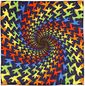 Tapestries 3D - Peace Dove Spiral - Small Tapestry 100064