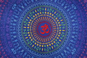 Tapestries 3D - Universal Om - Tapestry 100600
