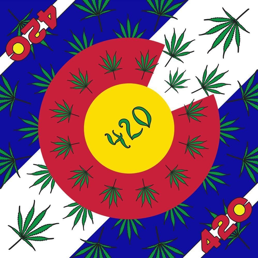 Tapestries 420 Colorado - Small Tapestry 008886