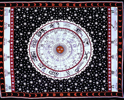Tapestries Astrology - Tapestry 002273