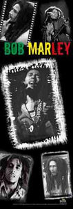 Tapestries Bob Marley - Collage - Long Tapestry 007229