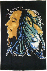 Tapestries Bob Marley - Lion Dread - Tapestry 008387