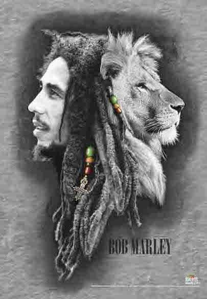 Tapestries Bob Marley - Lion Profile - Small Tapestry 007164