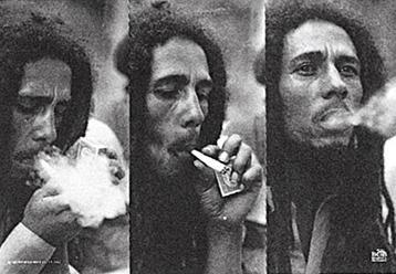 Tapestries Bob Marley - Triple Smoke - Tapestry 000698