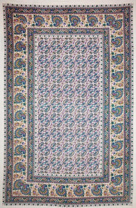 Tapestries Bold Paisley - White - Tapestry 006142