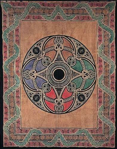 Tapestries Brown Celtic Mandala - Tapestry ta-162