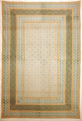Tapestries Carpet Design - Gold - Tapestry 006102