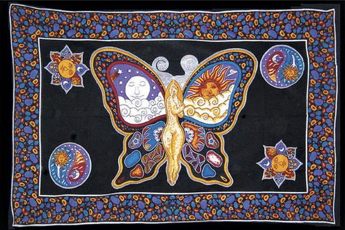 Tapestries Celestial Butterfly - Tapestry 000820