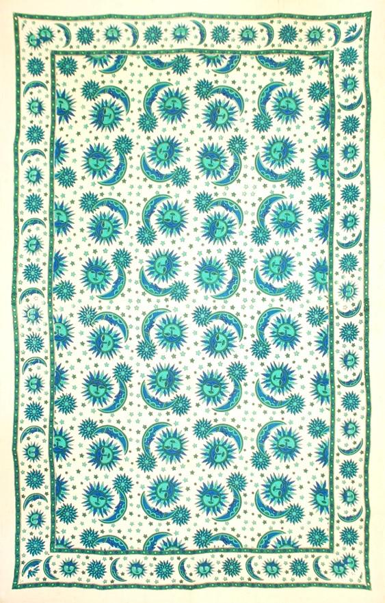 Tapestries Celestial Eclipse - Turquoise - Tapestry 100367