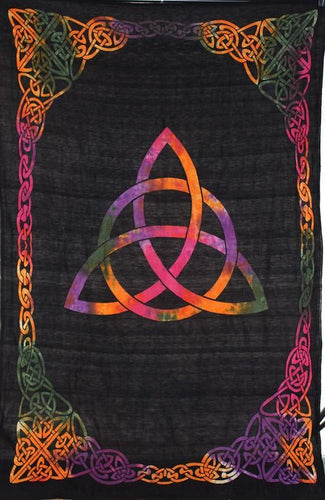 Tapestries Celtic Triquetra - Tie-Dye - Tapestry 100086
