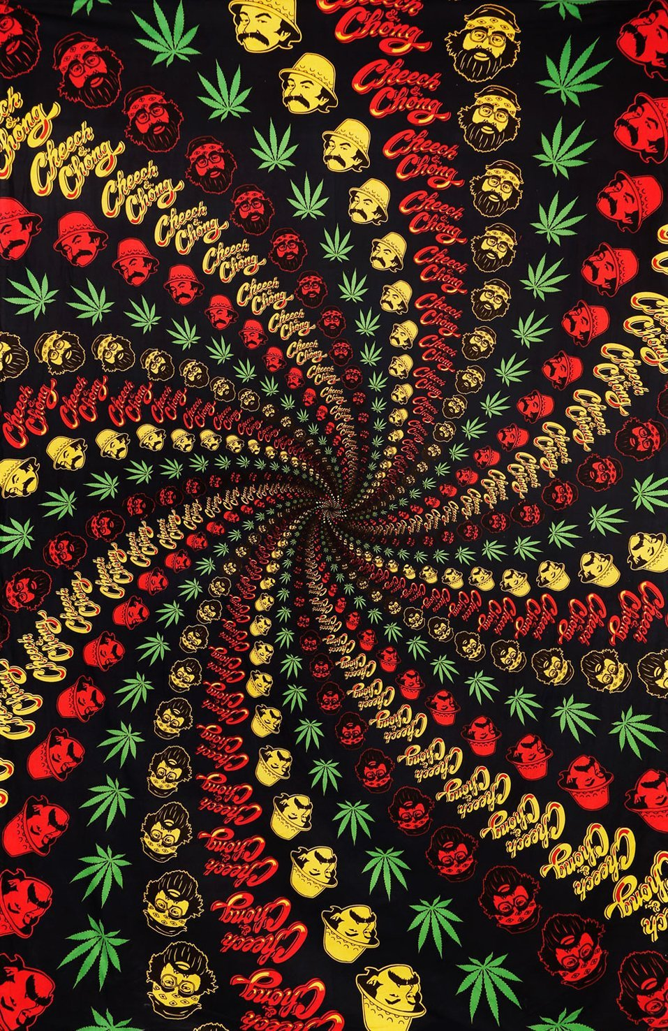 Tapestries Cheech and Chong - Weed Vortex - Tapestry 009494