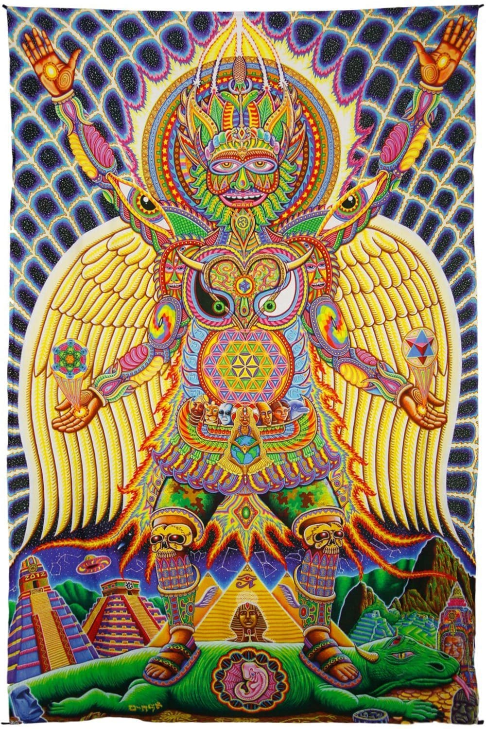 Tapestries Chris Dyer - Human Evolution - Tapestry 10247