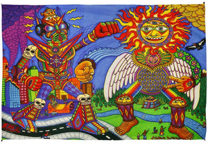 Tapestries Chris Dyer - The Battle - Tapestry 010244