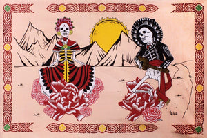 Tapestries Day of the Dead Dance - Tapestry 100602