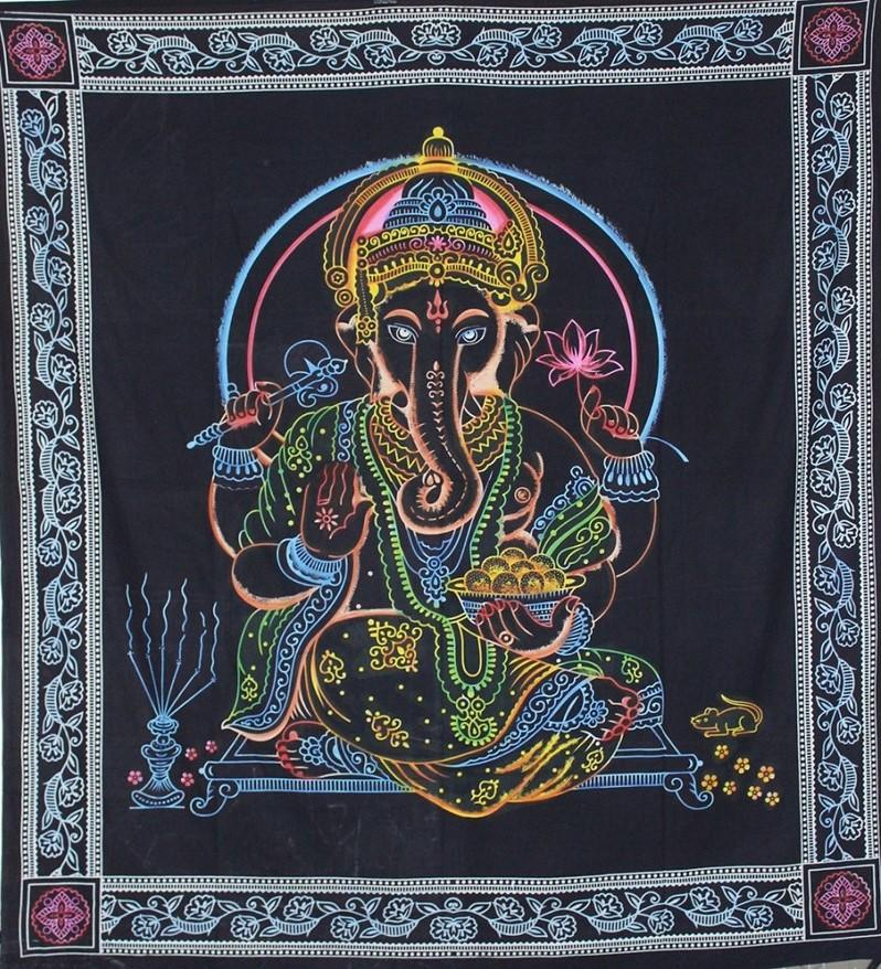 Tapestries Electric Ganesha - Tapestry 100628