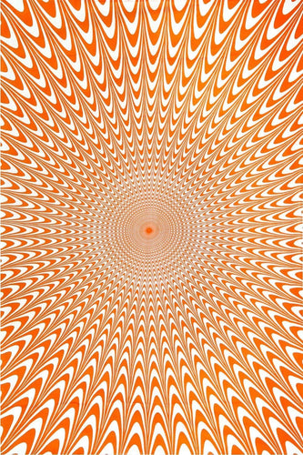 Tapestries Electric Vibrations - Orange - Tapestry 100105
