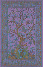 Load image into Gallery viewer, Tapestries purple Flower Tree - Tapestry 001050