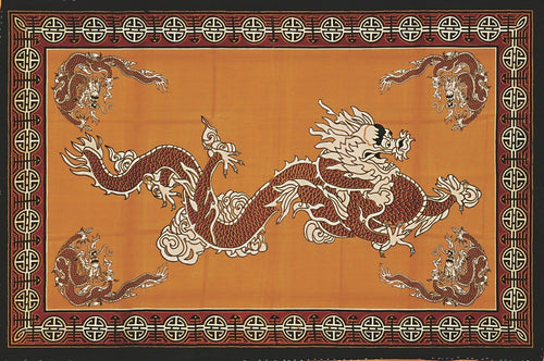 Tapestries Flying Chinese Dragon - Tapestry 001220