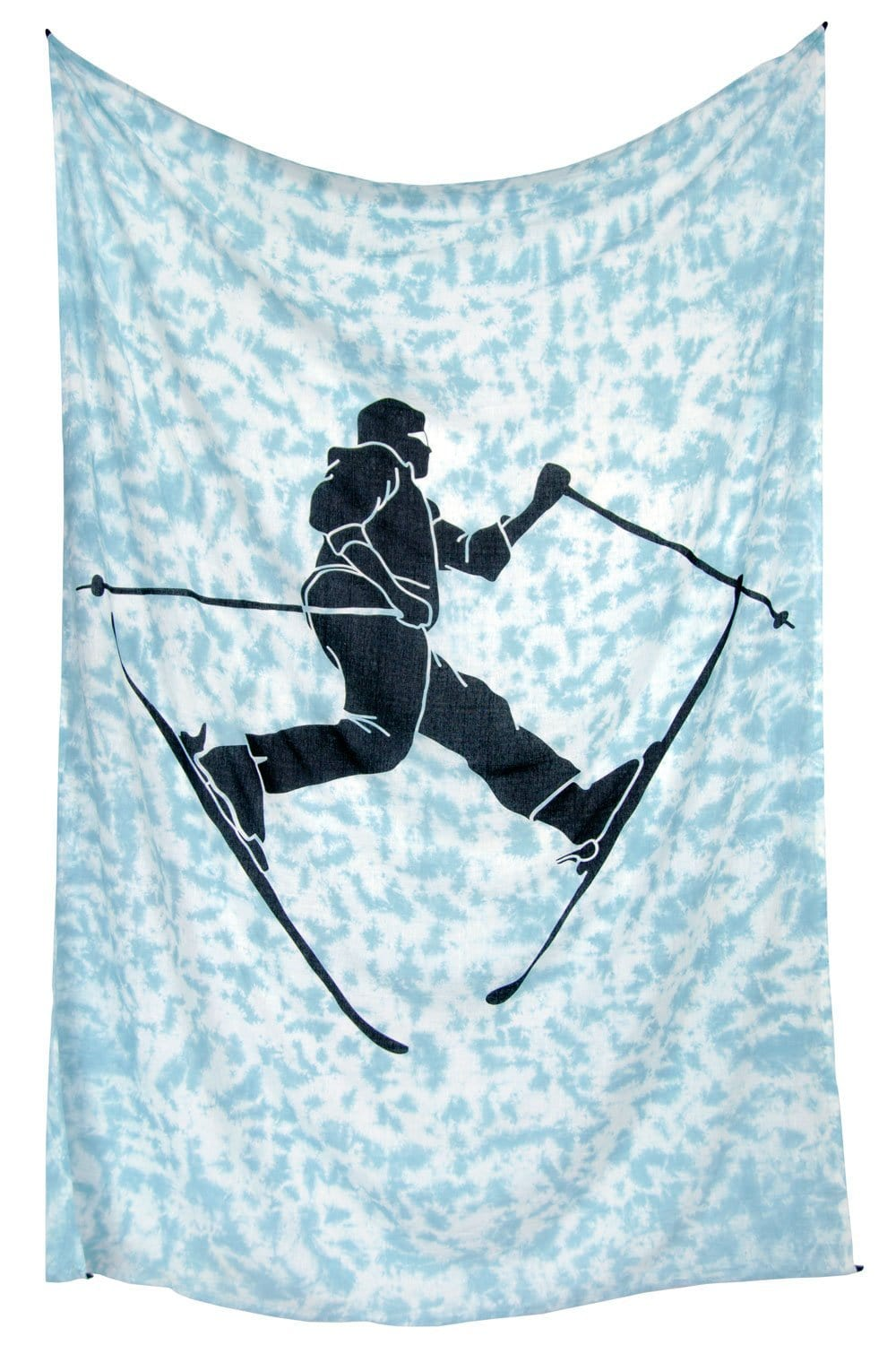 Tapestries Freestyle Skier - Tie-dye - Tapestry 011441