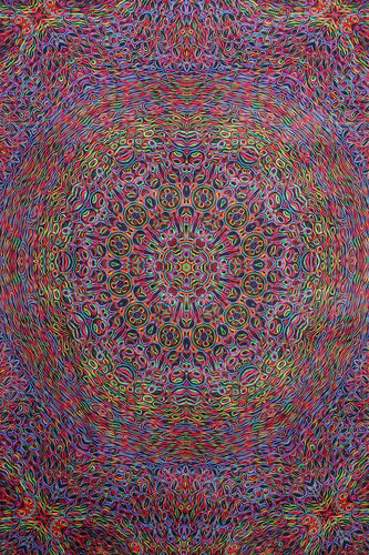 Tapestries Glowing Lines - Tapestry 010250