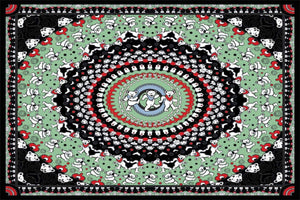 Tapestries Grateful Dead - Black Bears Mandala - Tapestry 100010