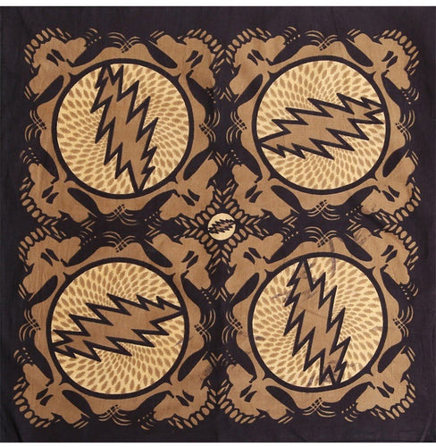 Tapestries Grateful Dead - Spin Your Face - Brown - Small Tapestry 100424