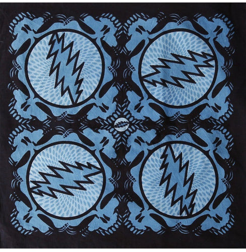 Tapestries Grateful Dead - Spin Your Face - Light Blue - Small Tapestry 100421