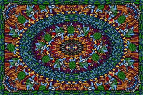Tapestries Grateful Dead - Terrapin Dance - Tapestry 000822