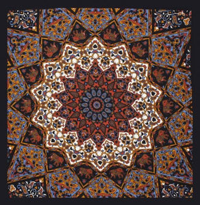 Tapestries Grey India Star - Small Tapestry 001515