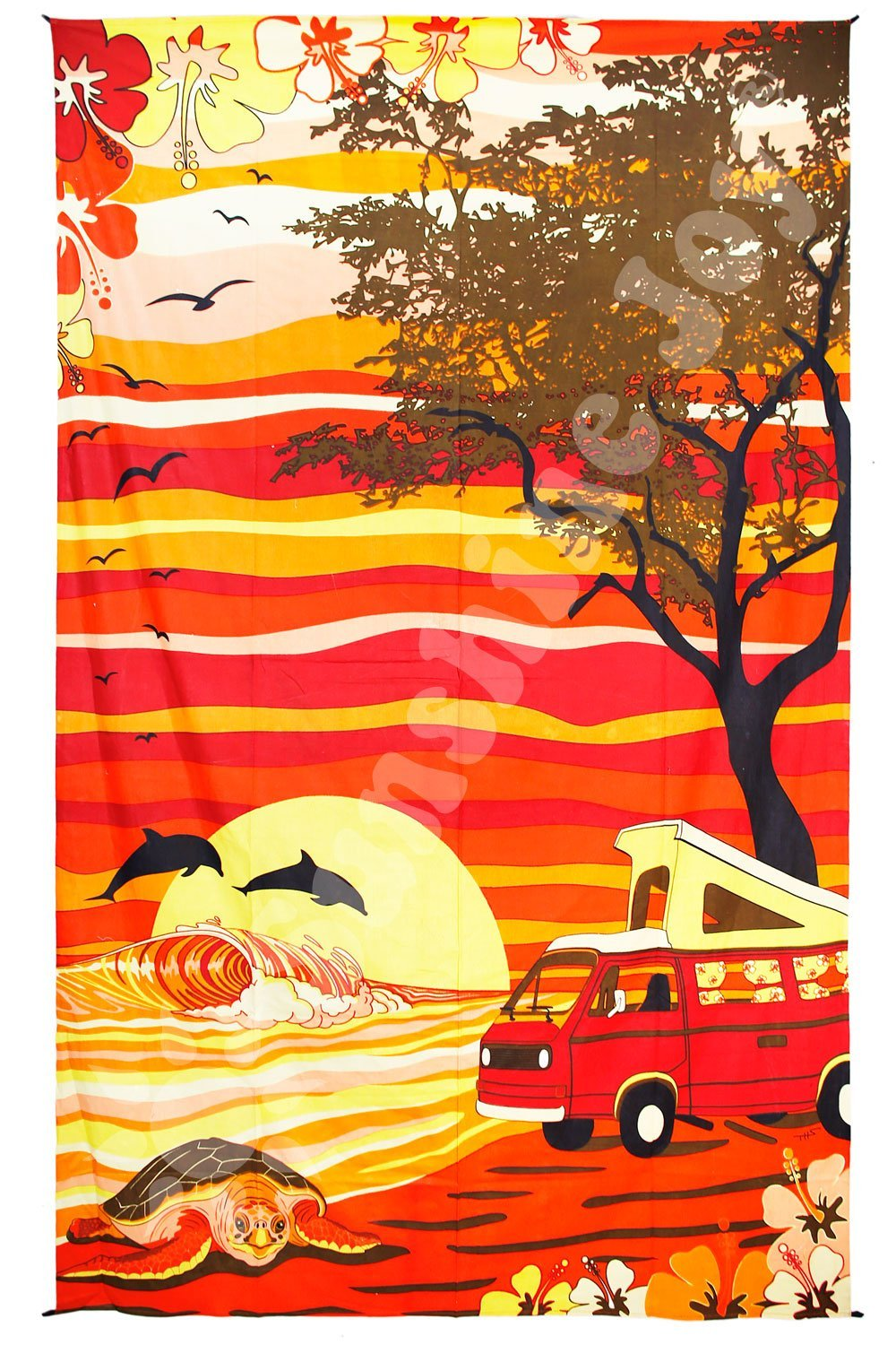 Tapestries Hawaii Camper Van - Tapestry 100018