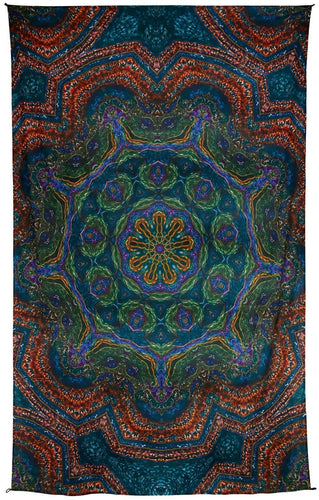Tapestries Heady Peacock Mandala - Tapestry 100028
