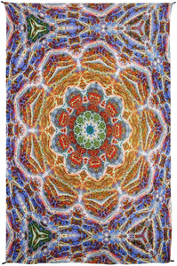 Tapestries Heady Volcanic Mandala - Tapestry 010254