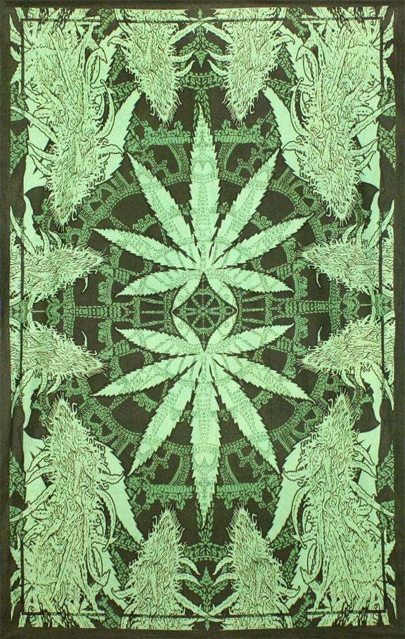 Tapestries Hempest Marijuana Leaf - Tapestry 005442