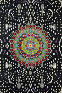 Tapestries Hypno Moons Mandala - Tapestry 007384